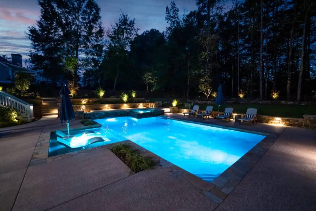 Enhance Your Pool With Stunning Lighting – J&M Pool Company