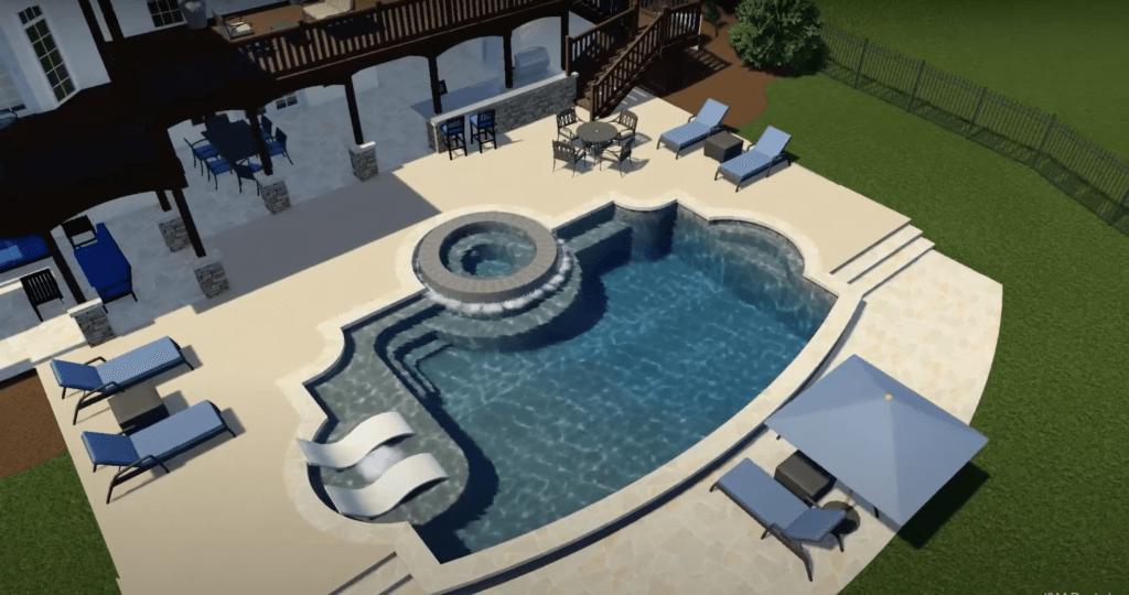 Custom Swimming Pool Design | Newnan, GA
