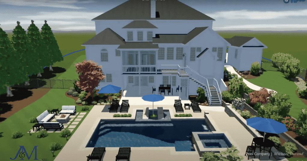 Custom Swimming Pool Design | Fayetteville, GA