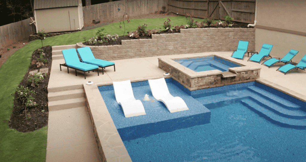 Outdoor Pool Construction by J&M Pool Company